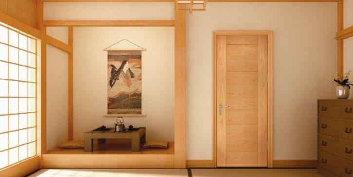 室内实木门木纹装修效果图大全