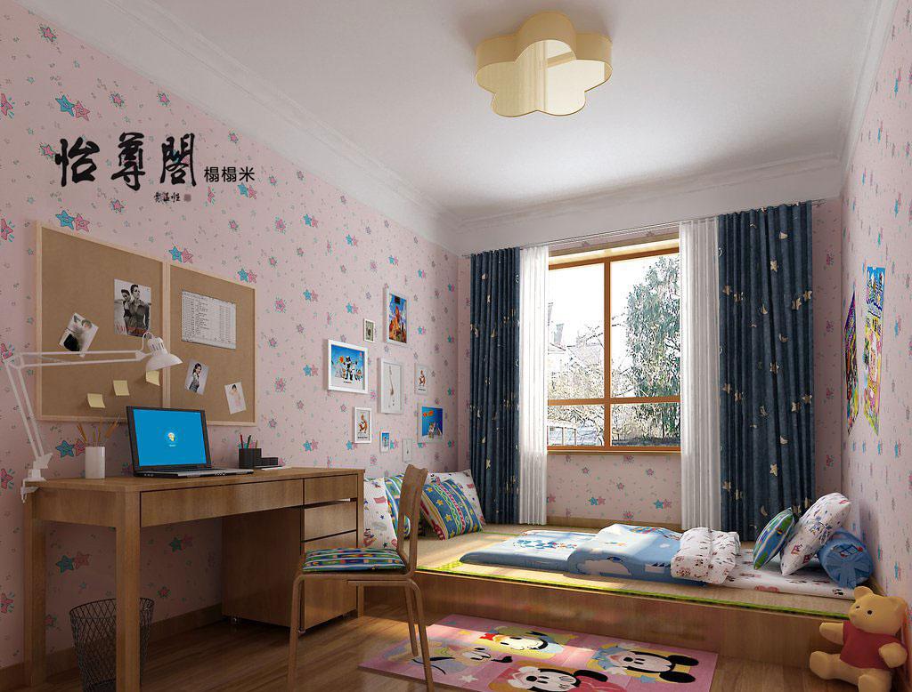 何不将榻榻米与飘窗结合起来,做一个临时的休闲区域,平时休息可以在