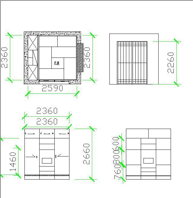 7万元   【设计施工】:西安怡尊阁榻榻米   【原始平面图】